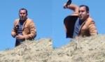 Ադրբեջանցի լրագրողը ռեպորտաժը վարելիս գլորվել է ձորը