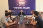 ԼՂՀ ԱԳ նախարարն ընդունել է Մոսկվայի քաղաքացիական լուսավորության դպրոցի ներկայացուցիչներին