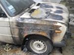 Թալին-Երևան ավտոճանապարհին ավտոմեքենա է այրվել