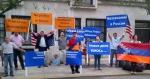 Բողոքի գործողություն Նյու Յորքում ՌԴ հյուպատոսության առաջ՝ ի պաշտպանություն Լևոն Հայրապետյանի (տեսանյութ)