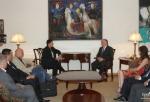 Էդ. Նալբանդյանն ընդունել է Լիտվայի խորհրդարանական պատվիրակությանը