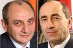 ԼՂՀ նախագահը շնորհավորել է Ռոբերտ Քոչարյանին