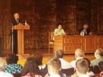 ԼՂՀ ԱԺ նախագահը սեպտեմբերի 1-ին  այցելել է Արցախի պետական համալսարան