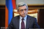 Սերժ Սարգսյանը շնորհավորել է Ուզբեկստանի նախագահին