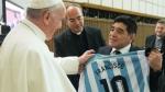 Մարադոնան Հռոմի պապին նվիրել է Արգենտինայի հավաքականի մարզաշապիկը