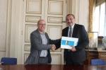 Համագործակցության համաձայնագիր է ստորագրվել Ստեփանակերտ և Դոնոստիա քաղաքների միջև