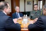 Սեյրան Օհանյանն ընդունել է ՀՀ-ում Հունաստանի դեսպանին