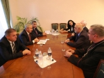 ԼՂՀ ԱԺ նախագահն ընդունել է լեհ սենատոր Լ.Աբգարովիչի գլխավորած պատվիրակությանը