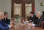 Արցախի վարչապետն ընդունել է ՀՀ սպորտի և երիտասարդության հարցերի նախարարին
