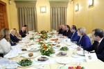 Հովիկ Աբրահամյանն աշխատանքային ճաշ է ունեցել  Հունաստանի նախագահի հետ