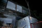 Տիգրան Մեծի պողոտայի 13/1 շենքի պատշգամբներից մեկը փլուզվել է