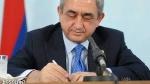 Սերժ Սարգսյանը օրենքներ է ստորագրել
