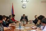 ԼՂՀ վարչապետը ընդունել է «Մայրություն» ՀԿ ներկայացուցիչներին