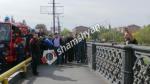 Արտակարգ իրավիճակ Կիևյան կամրջի վրա. քաղաքացին անցել է վտանգավոր եզրագիծը և սպառնում է ցած նետվել