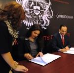Օմբուդսմենի և ՄԱԿ-ի Բնակչության հիմնադրամի հայաստանյան գրասենյակի միջև ստորագրվել է փոխըմբռնման հուշագիր