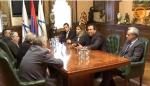 Գագիկ Ծառուկյանն ընդունել է Տիգրան Կարապետյանին (տեսանյութ)