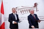 Էդվարդ Նալբանդյանն ու Շվեյցարիայի նախագահը հեռախոսազրույց են ունեցել