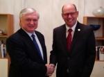 Էդվարդ Նալբանդյանը հանդիպել է Շվեդիայի Ռիկսդագի նախագահին