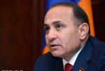 Овик Абрамян выступил с заявлением в связи с ситуацией на финансовом рынке страны