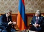 Սերժ Սարգսյանն ընդունել է Եվրոպական խորհրդարանի փոխնախագահին