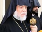 Արամ Ա Կաթողիկոսը ժամանել է Հայաստան