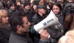 Բողոքի գործողություն Կառավարության շենքի դիմաց (տեսանյութ)