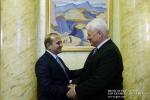 Հովիկ Աբրահամյանն ընդունել է «Գազպրոմ» ընկերության վարչության նախագահի տեղակալին