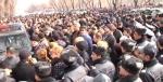 Ցուցարարները փակել են Բաղրամյան պողոտան