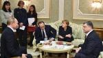 Մերկելը «նորմանդյան քառյակին» հրավիրել է Բեռլին՝ բանակցությունների