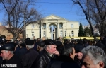 Նաիրիտցիները Բաղրամյան-Դեմիրճյան խաչմերուկում սպասում էին Սերժ Սարգսյանին