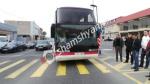Ավտովթար Արգավանդի խաչմերուկում. բախվել են մարդատար ավտոբուսն ու «Opel»-ը. կան վիրավորներ