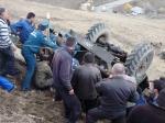 Զինծառայողներին տեղափոխող «Ուրալ»–ը Սպիտակ-Երևան ավտոճանապարհին շրջվել է հարակից ձորակը