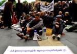 Работники «Наирита» продолжают сидячую забастовку (фото)