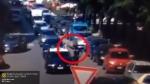 Իտալացին այրել է ոստիկանական մեքենան, որում երկու սպա կար (տեսանյութ)