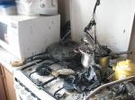 Հոսանքի կարճ միացումից այրվել է տան խոհանոցը
