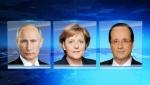 Պուտինը, Մերկելն ու Օլանդը քննարկել են ուկրաինական հարցը