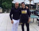 Արթուր Աբրահամի հանդիպումը Հ. Մխիթարյանի և «Բորուսիայի» ֆուտբոլիստների հետ (լուսանկարներ)
