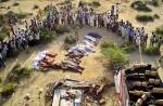 Բեռնատարի հետ ավտոբուսի բախման հետևանքով Հնդկաստանում 25 մարդ է զոհվել