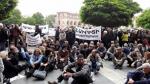 В 11:00 работники завода «Наирит» начнут бессрочный сидячий пикет