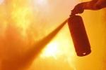 Գյումրիում այրվել է կրպակ