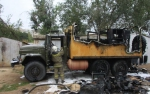 Հրդեհ Առափի գյուղում. ամբողջությամբ այրվել է «ԶԻԼ-130»–ը