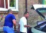 Ուկրաինացին մեքենան լիցքավորում է իր տան գազի վառարանով (լուսանկար, տեսանյութ)