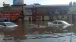 Բաթումին հեղեղվել է հորդառատ անձրևներից հետո (տեսանյութ)