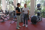 Ինչպես են Պուտինն ու Մեդվեդևը մարզվել և նախաճաշել միասին (տեսանյութ)