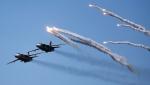 Очевидцы опубликовали видео российского авиаудара по ИГ