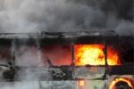 Դավիթաշենում ավտոբուս է այրվել