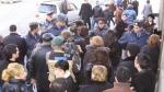 Բնակիչները փակել էին Տիգրան Մեծ պողոտան