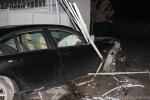 Մեքենան դուրս է եկել ճանապարհի երթևեկելի հատվածից և բախվել ՃՈ հենակետի դարպասին