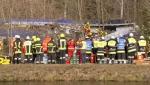 Причиной трагедии в Баварии предположительно стал человеческий фактор (видео)