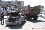 Բախվել է «Զիլ» մակնիշի աղբատար մեքենային